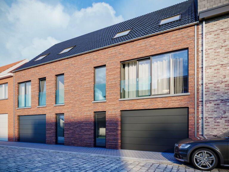 3D visualisatie rijwoning Vlaanderen