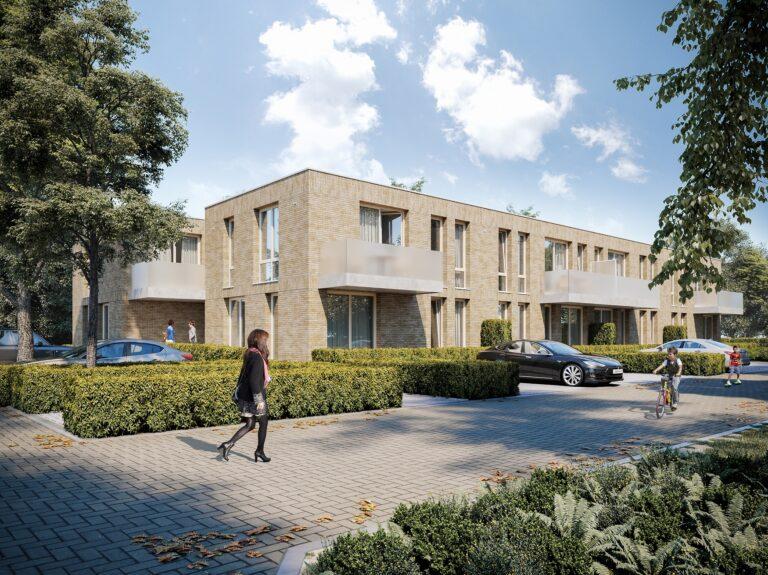 3D visualisatie appartementsgebouw Nederland